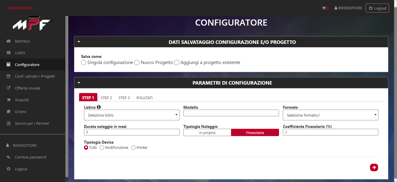 printapp configuratore